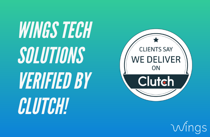 Wings Tech Solutions verified by Clutch!